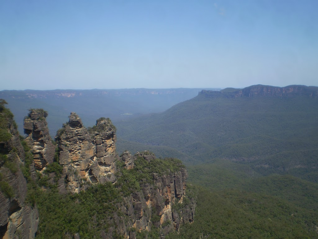 The Three Sisters from Echo Point
