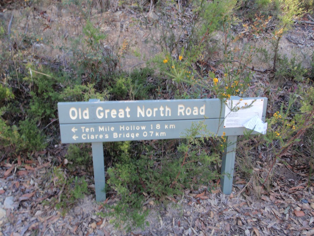 sign at the nt of the OGNR and Donnys track (170075)