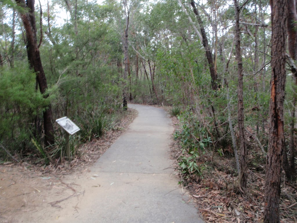 Bungoona Path and information sign