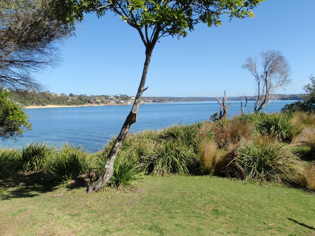 Looking south across Port Hacking