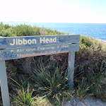 Welcome to Jibbon Head sign