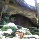 The natural rock arch