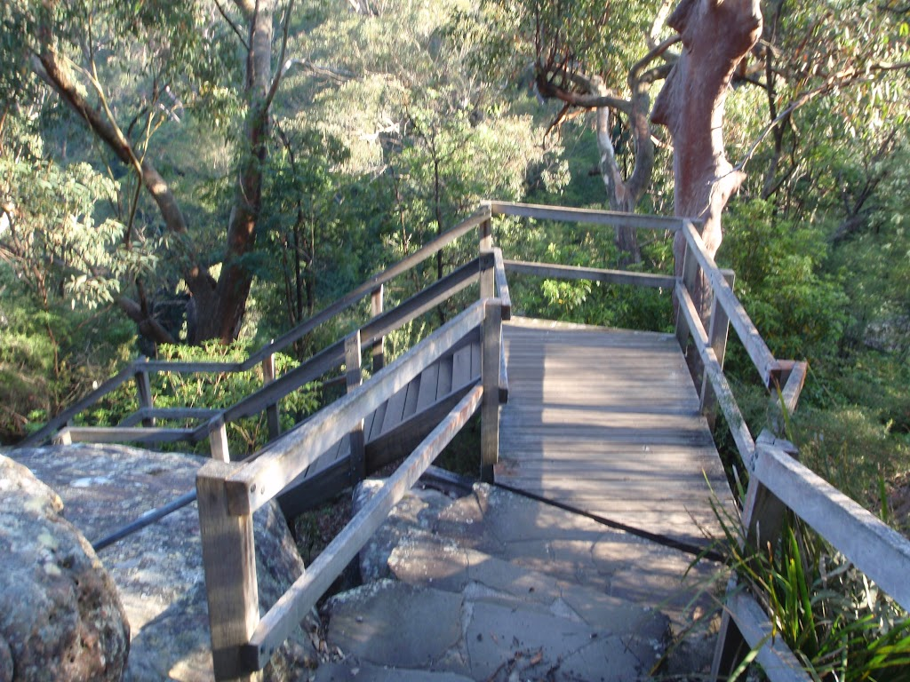 Track to Somersby Falls