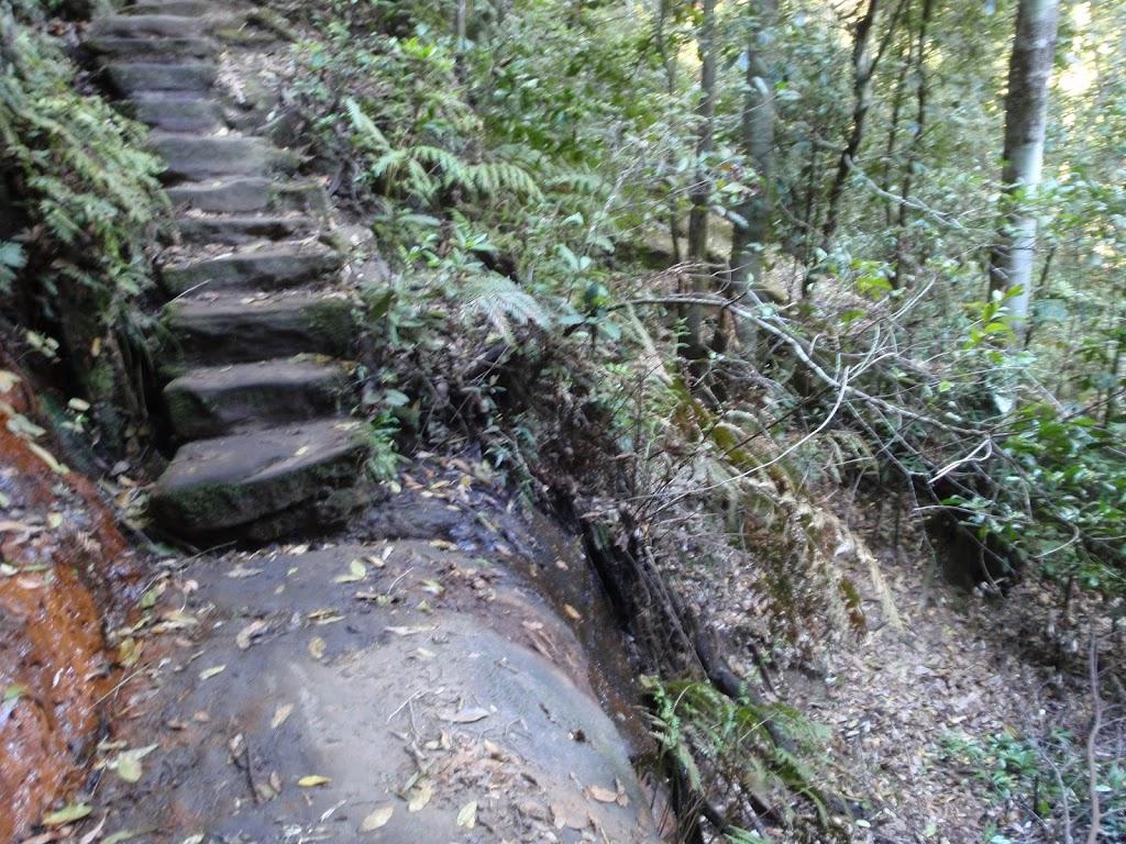 Slippery track