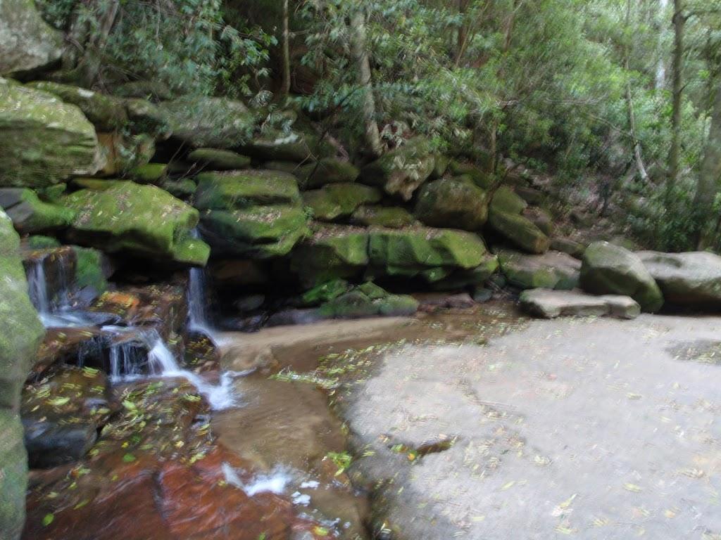 Bottom of Somersby Falls