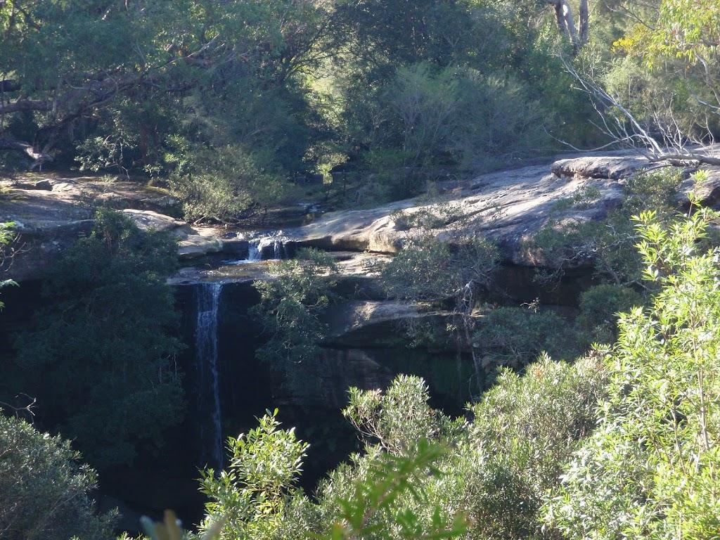 Piles Creek Falls from Bundilla Lookout