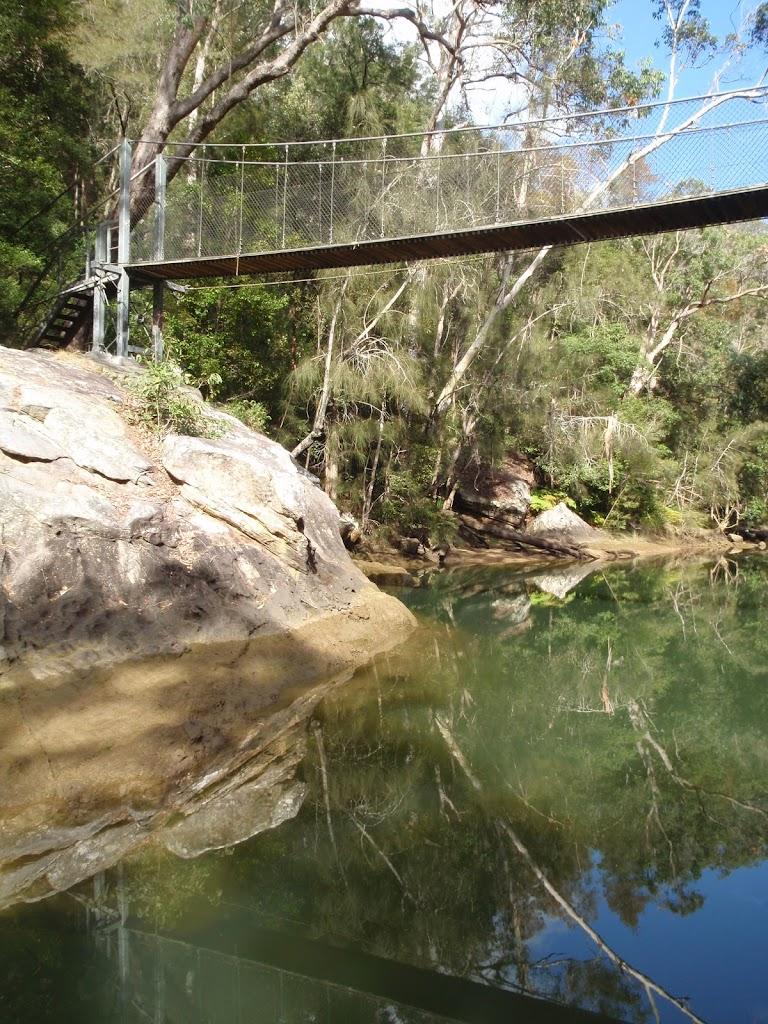 Phil Houghton Bridge over Piles Creek