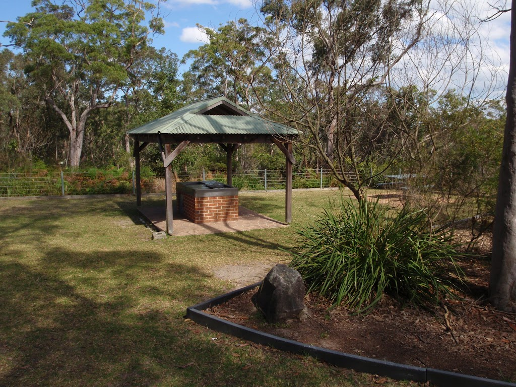 BBQ shelter at Girrakool Picnic Area