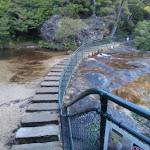 Jamison Creek crossing at the top to Wentworth falls