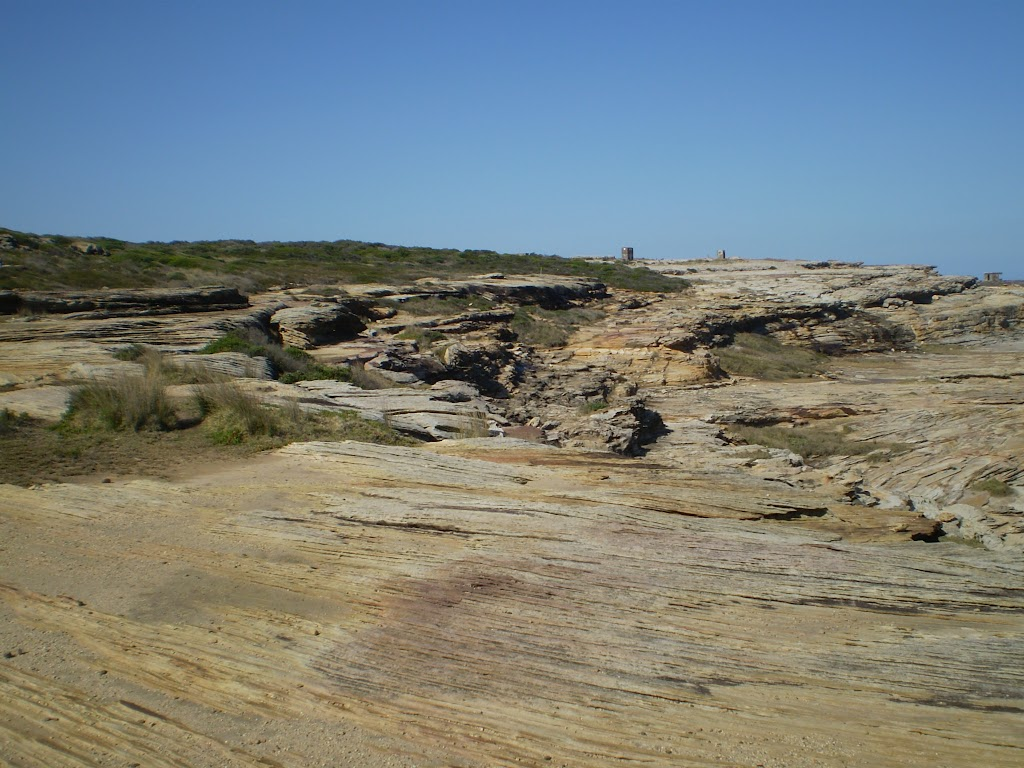 Exposed rocky track near Maroubra