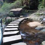 Lodore Falls crossing