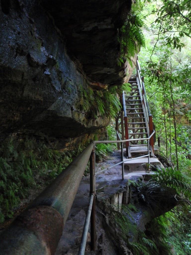 Track above Empress Falls