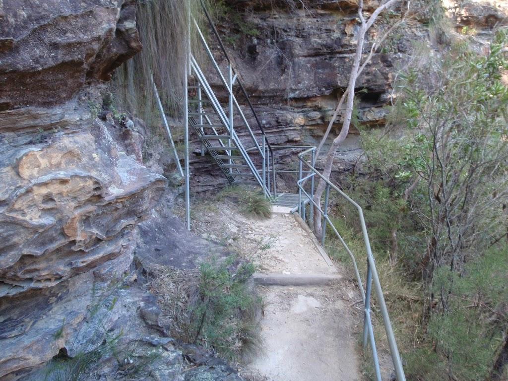 Track below Empress Lookout