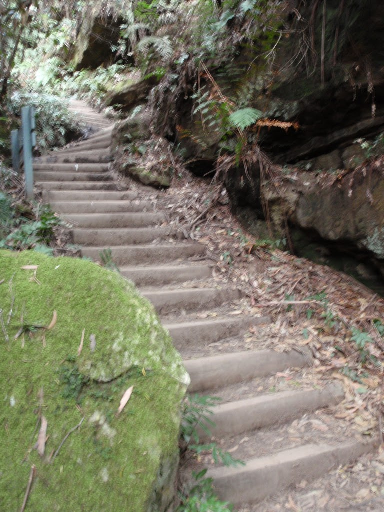 Steps down to Pool of Siloam