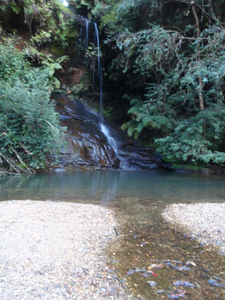 Waterfall at upper reaches of Gordon Creek