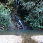 Waterfall at upper reaches of Gordon Creek (186852)
