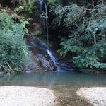 Waterfall at upper reaches of Gordon Creek