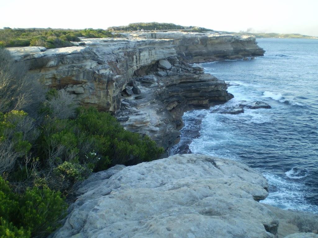 Coast line of Botany Bay National Park