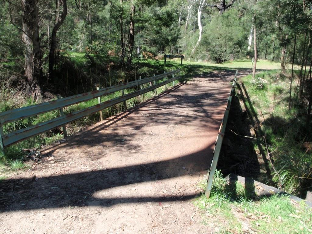 Bridge below Darug campsite