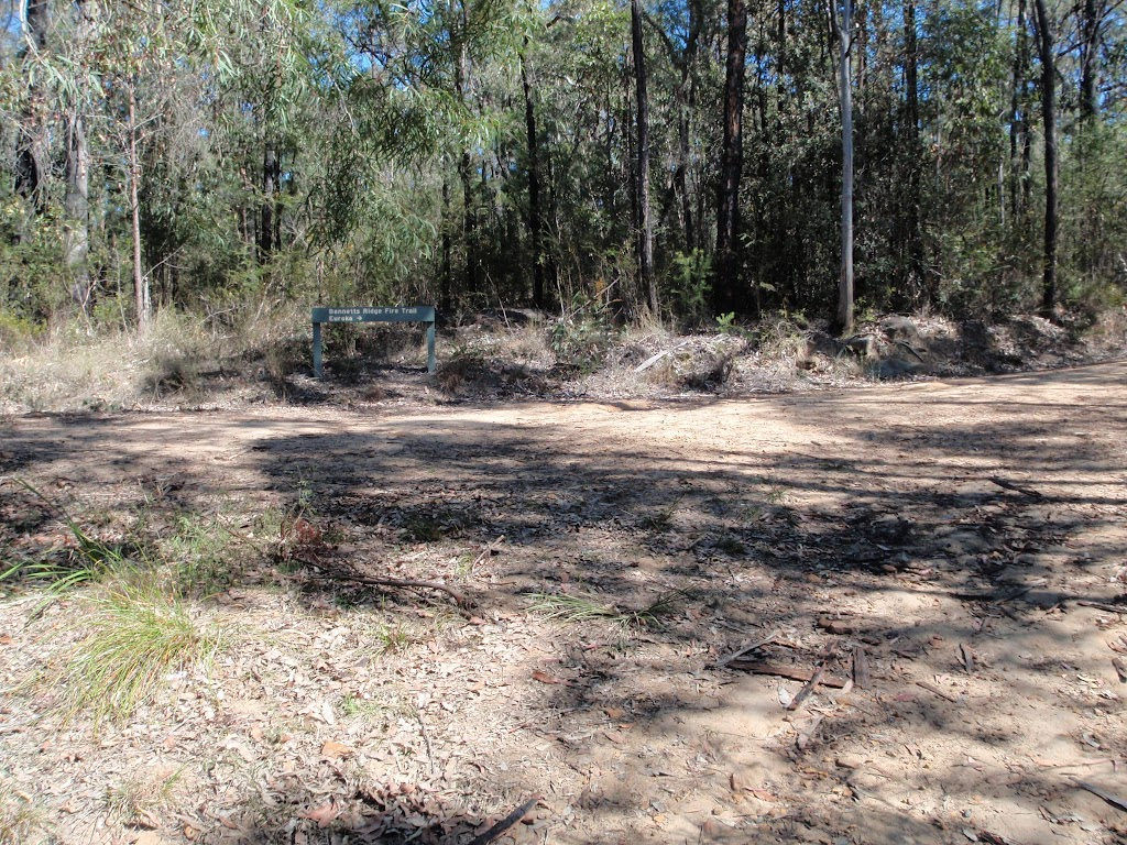 Int of Nepean River track and Bennetts Ridge trail