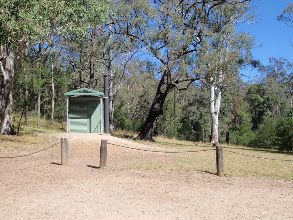 Bennetts Ridge campsite toilet