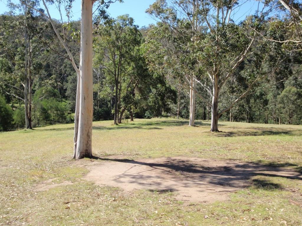 Walking across Bennetts Ridge day use area