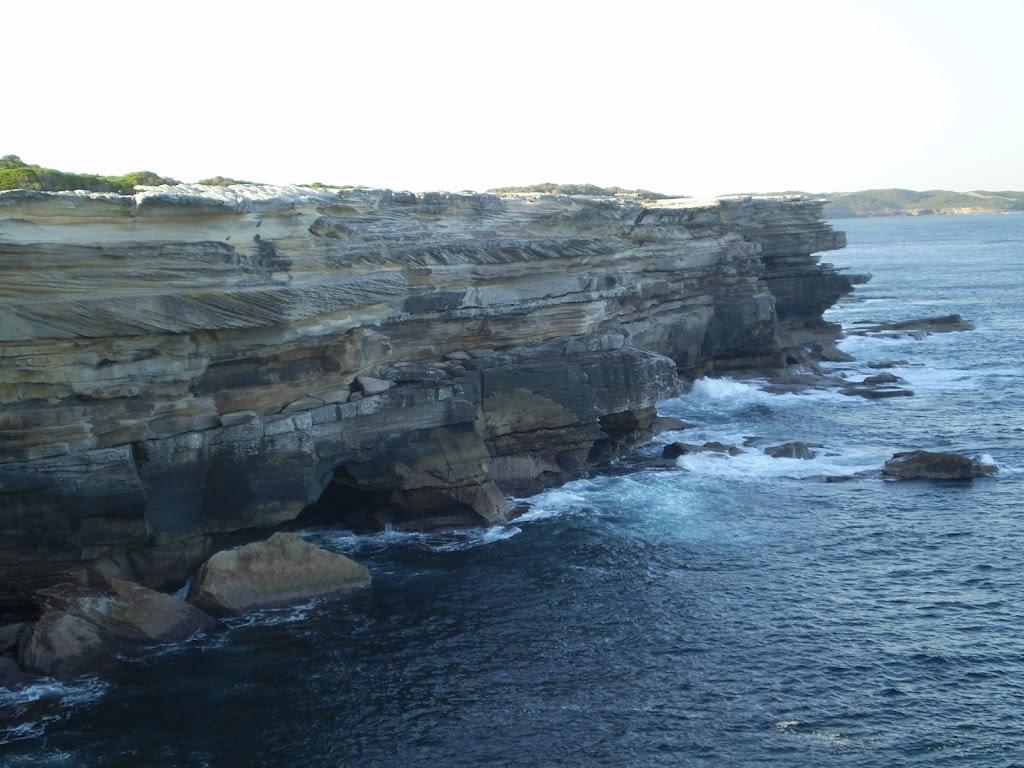 The coastal view