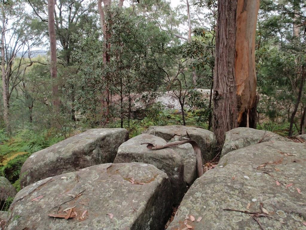 Broken rocks