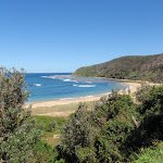 Stunning views across Bateau Bay (193775)