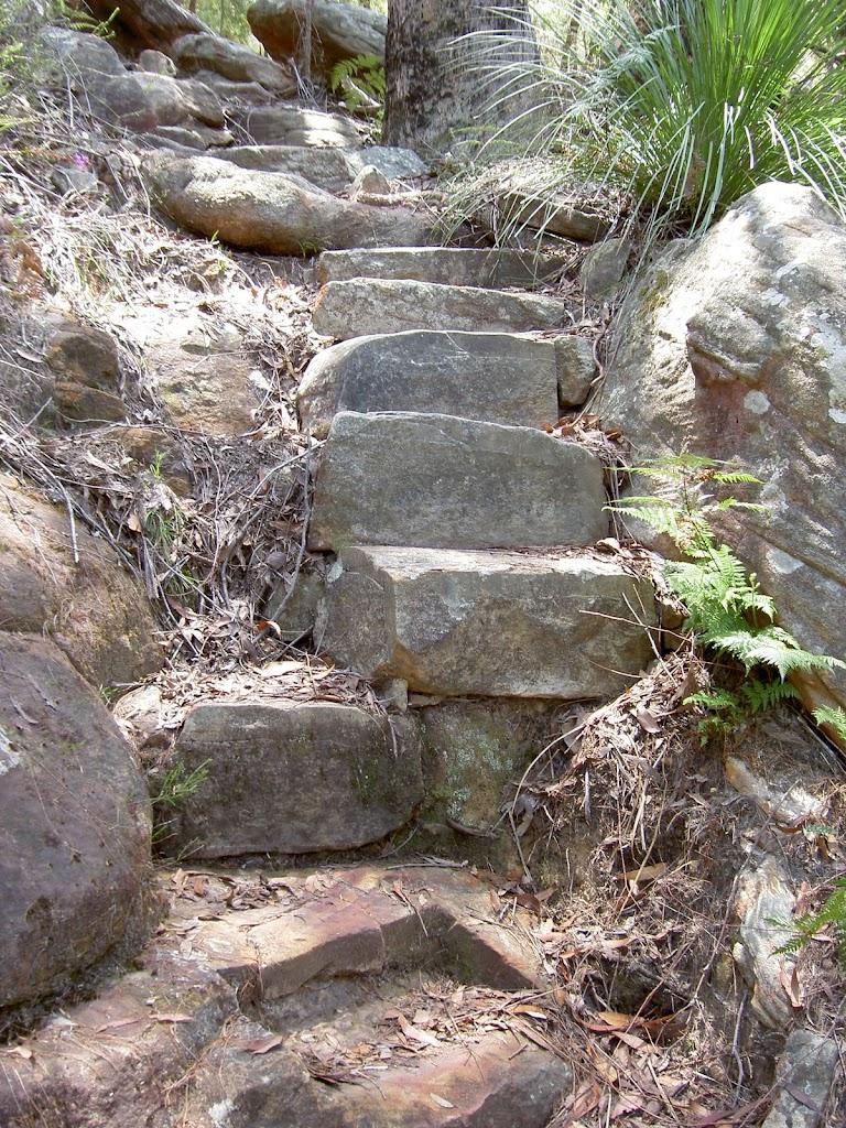 Steps above Wondabyne