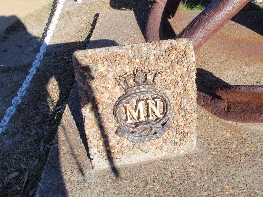 Merchant Navy memorial stone