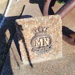 Merchant Navy memorial stone (194723)