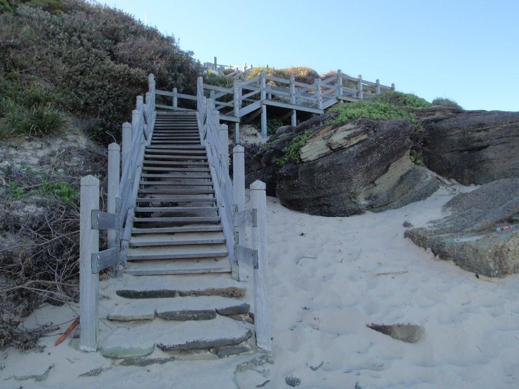 Steps at Norah Head