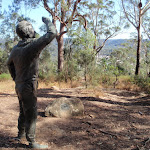 Bronze sculpture of Sir Charles Kingsford Smith (197554)