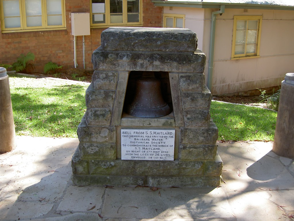 Bell from S.S.Maitland