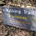 Walking trail signpost (198442)