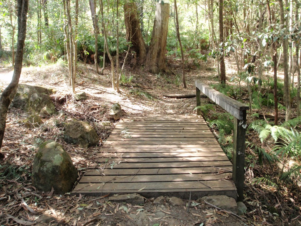 Timber footbridge