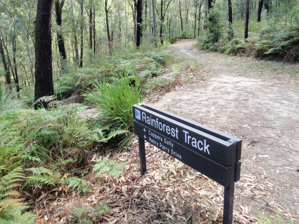 Well signposted tracks