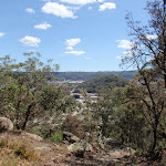 View from the Int of Rainforest walk and Casuarina walk