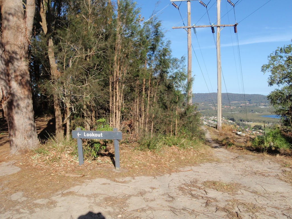 sign to Yaruga Lookout