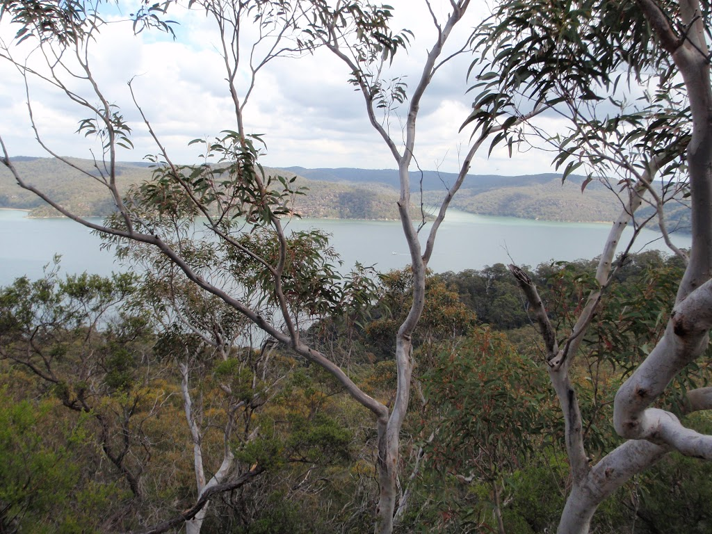 Looking over the Hawkesbury River