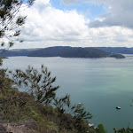 Great view from Tumblecowii over the Hawkesbury River