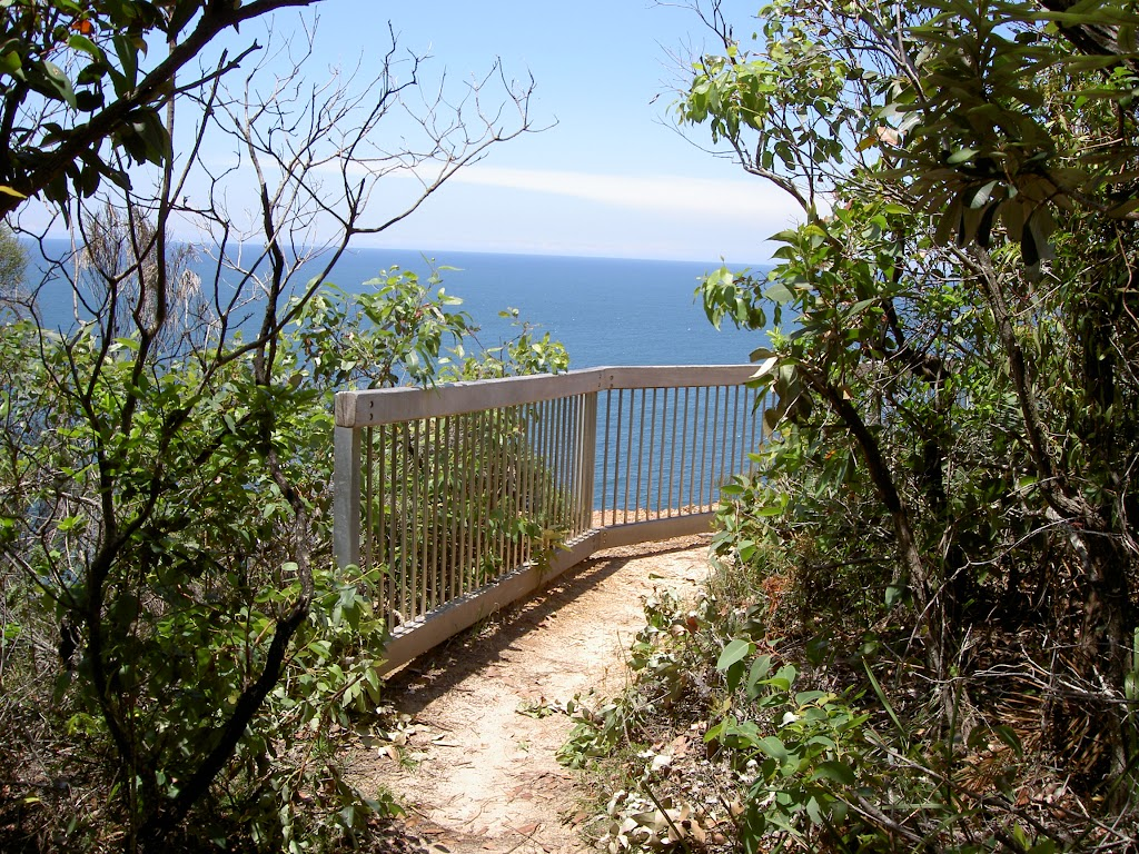 Railing at Gerrin Point