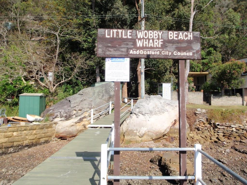 Little Wobby Beach Wharf