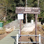 Little Wobby Beach Wharf