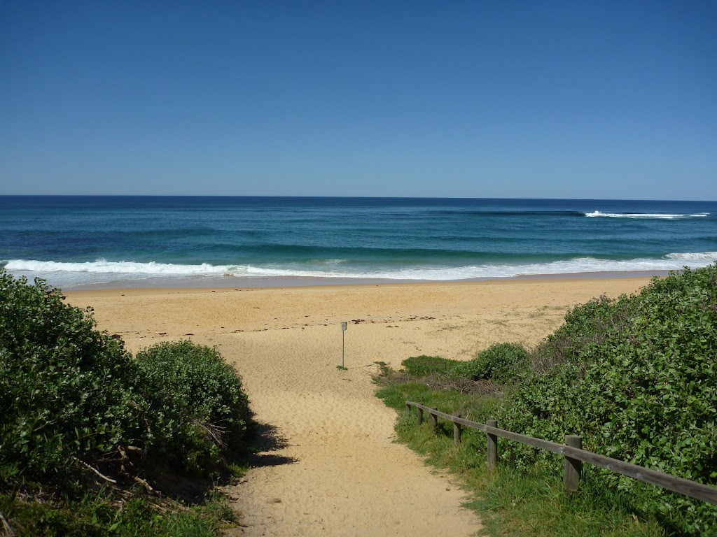 Looking across Forresters beach