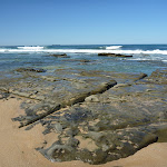 Interesting rocks on Forresters Beach (207103)