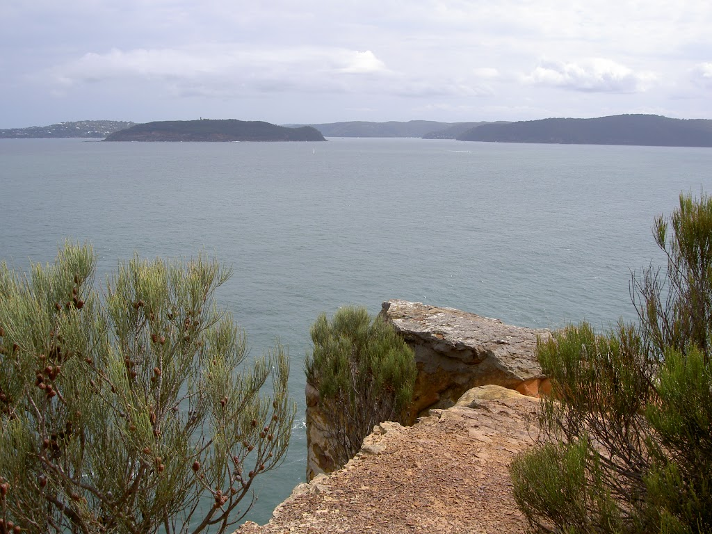 Box Head lookout over Broken Bay to Barrenjoey Headland