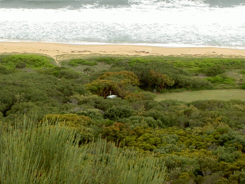 Tallow Beach Campsite from Hawke Head Drive