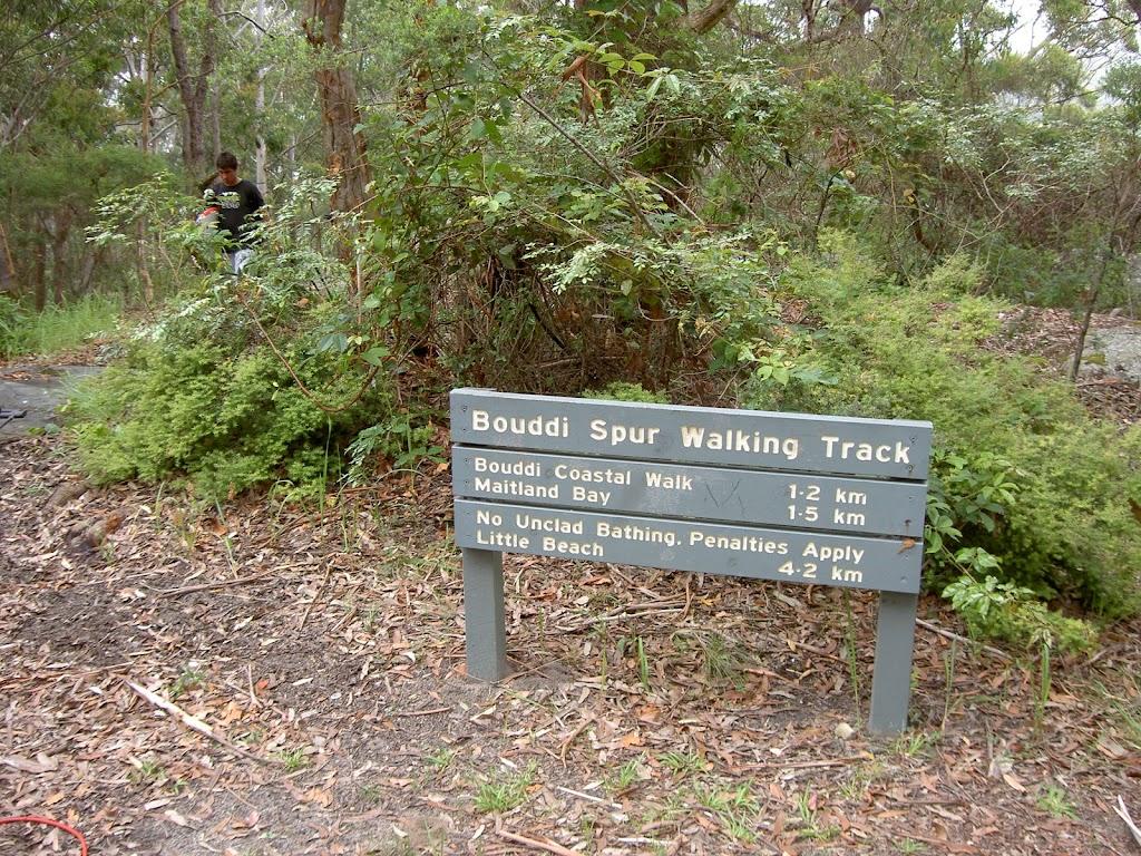 Signpost at picnic area